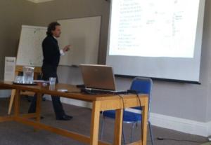 WCCSJ presenting