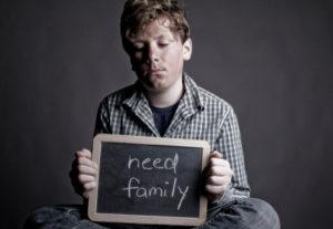 Boy Needs Family - iStock_000012148896XSmall