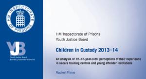 Children In Custody - 2013-14 HMIP